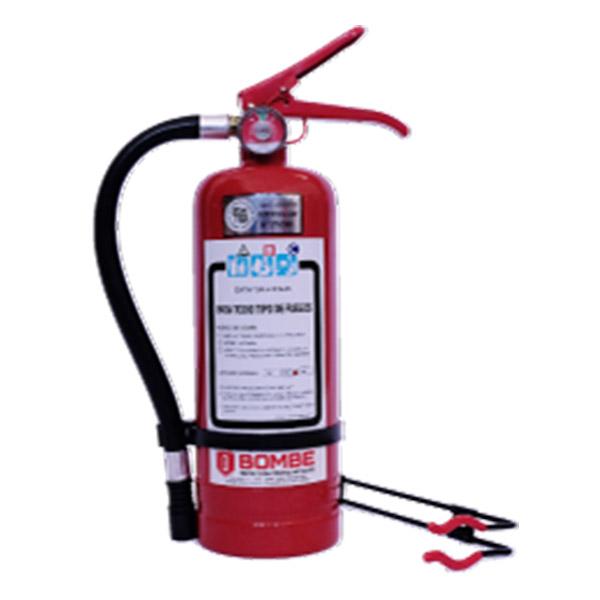 Extintor A Polvo ABC De 2 Kilos De Capacidad Con Soporte Vehicular