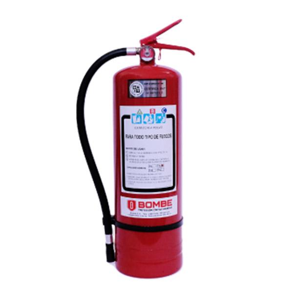 Extintor A Polvo ABC De 8 Kilos De Capacidad Con Kit De Instalación