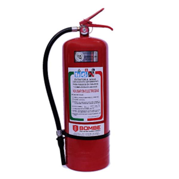 Extintor A Espuma De 10 Litros De Capacidad Con Kit De Instalación