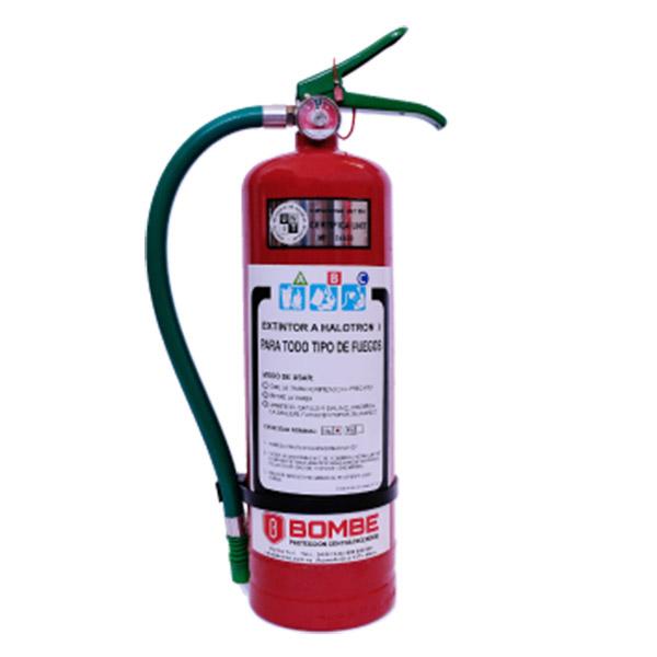 Extintor Haloclean/Halotrón De 4 Kilos Con Kit De Instalación
