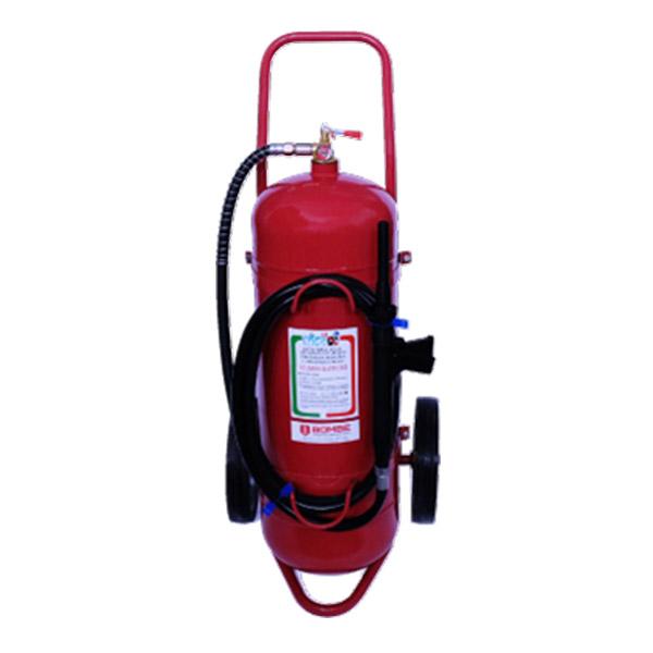 Extintor A Espuma De 50 Litros De Capacidad Sobre Ruedas