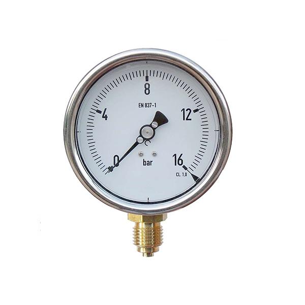 Manómetro De Presión 0 A 16 Bar