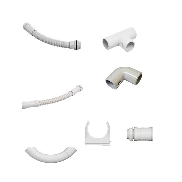 Tubos rígidos de PVC y accesorios importados de Italia